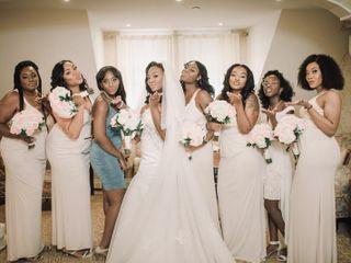The wedding of Destiny  and Mekel  1
