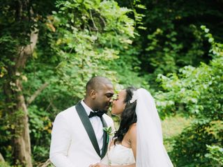 The wedding of Destiny  and Mekel  2
