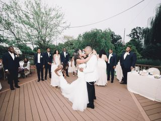 The wedding of Destiny  and Mekel  3