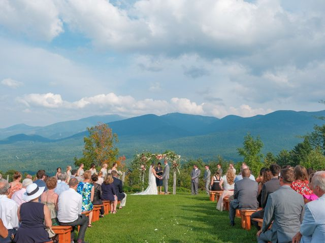 Ryan and Catie's Wedding in Franconia, New Hampshire 1