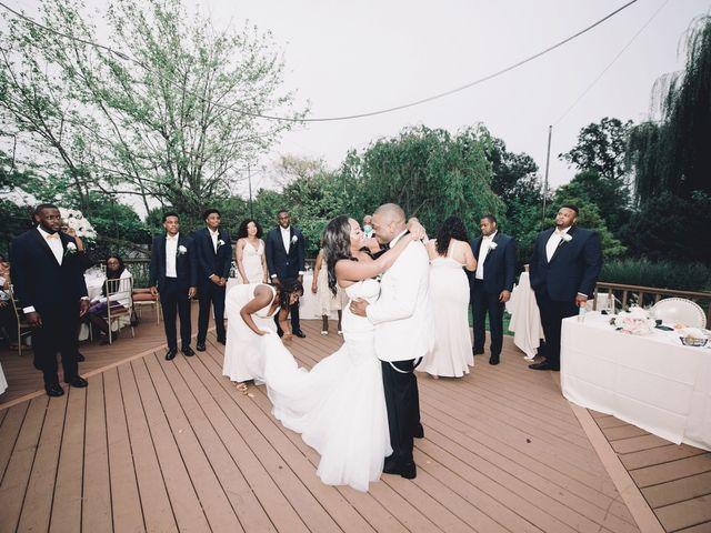 Mekel  and Destiny 's Wedding in Bayside, New York 4