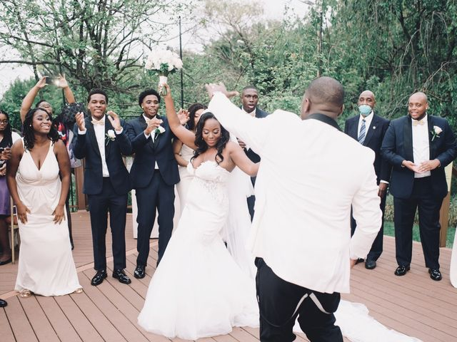 Mekel  and Destiny 's Wedding in Bayside, New York 6