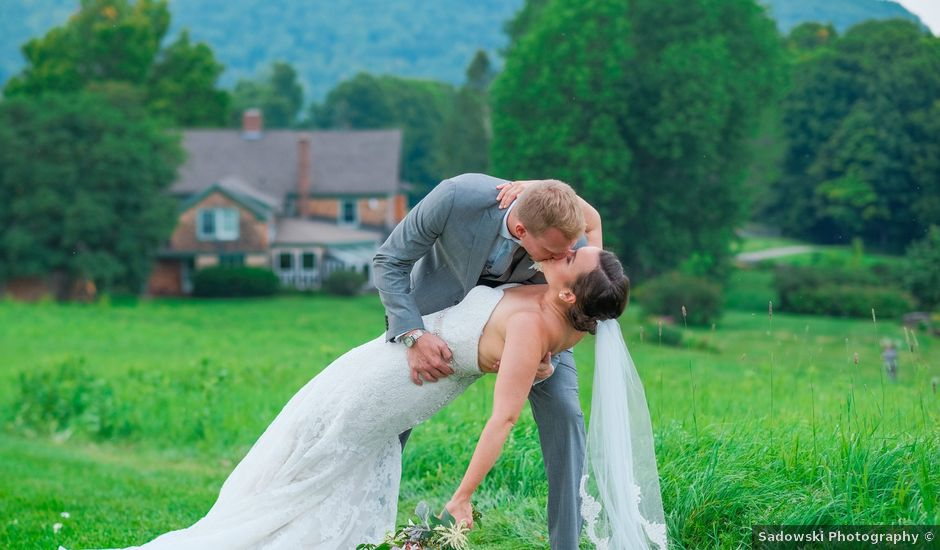 Ryan and Catie's Wedding in Franconia, New Hampshire