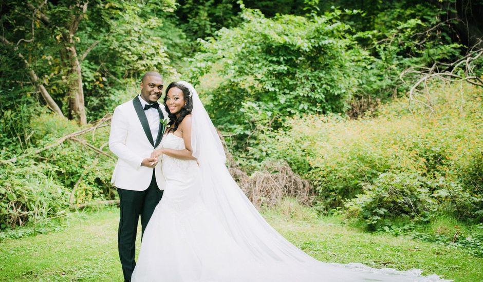 Mekel  and Destiny 's Wedding in Bayside, New York