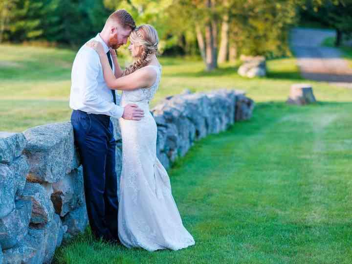 The wedding of Liz and Kyle