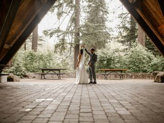 The wedding of Ezgi and James