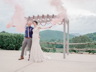 The wedding of Sean and Amelia