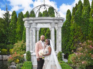 The wedding of Latasha and Rick