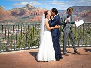 The wedding of Cassie and Jerome 2