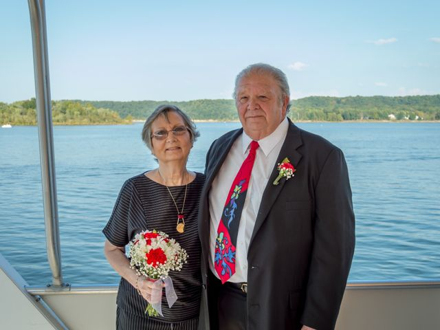 The wedding of Shelia and Richard