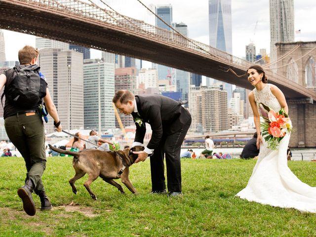 Pete and Marilu's Wedding in Brooklyn, New York 6