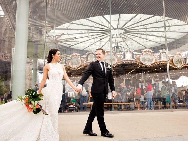 Pete and Marilu's Wedding in Brooklyn, New York 9