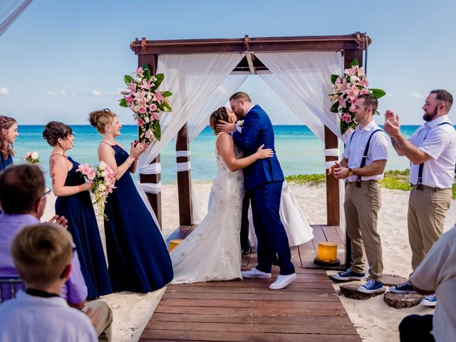Chris and Isabelle's Wedding in Playa del Carmen, Mexico 1