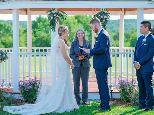 Kyle and Liz's Wedding in Chichester, New Hampshire 40