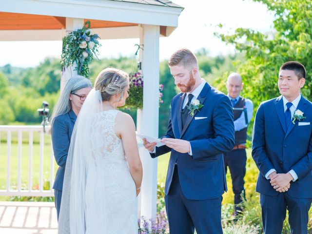 Kyle and Liz's Wedding in Chichester, New Hampshire 41