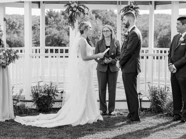 Kyle and Liz's Wedding in Chichester, New Hampshire 43