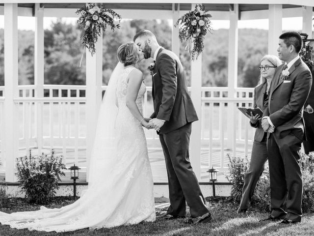 Kyle and Liz's Wedding in Chichester, New Hampshire 45