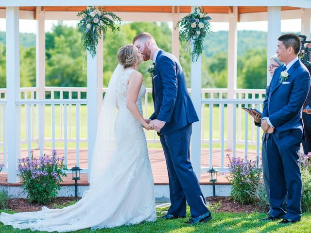 Kyle and Liz's Wedding in Chichester, New Hampshire 46