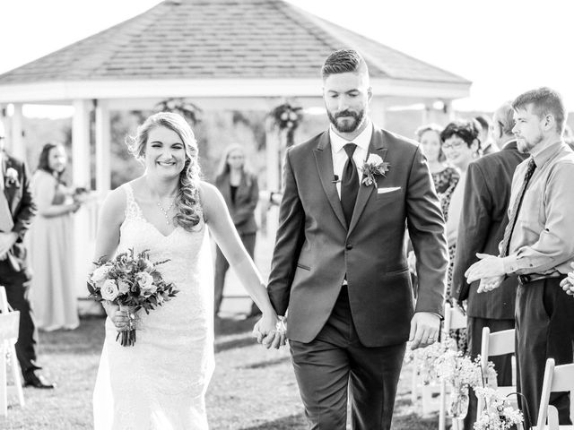 Kyle and Liz's Wedding in Chichester, New Hampshire 48