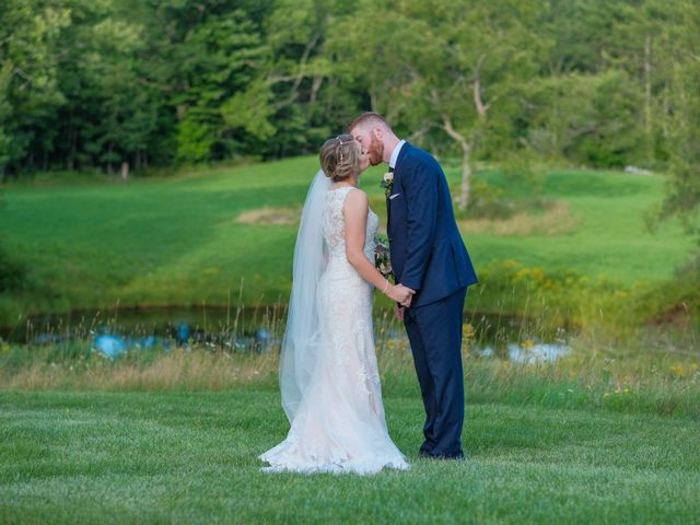 Kyle and Liz's Wedding in Chichester, New Hampshire 56