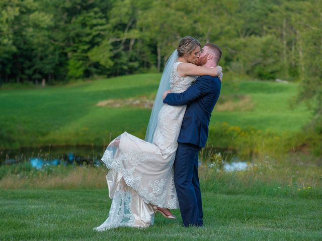Kyle and Liz's Wedding in Chichester, New Hampshire 57