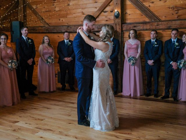 Kyle and Liz's Wedding in Chichester, New Hampshire 59