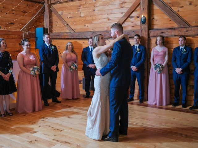 Kyle and Liz's Wedding in Chichester, New Hampshire 60