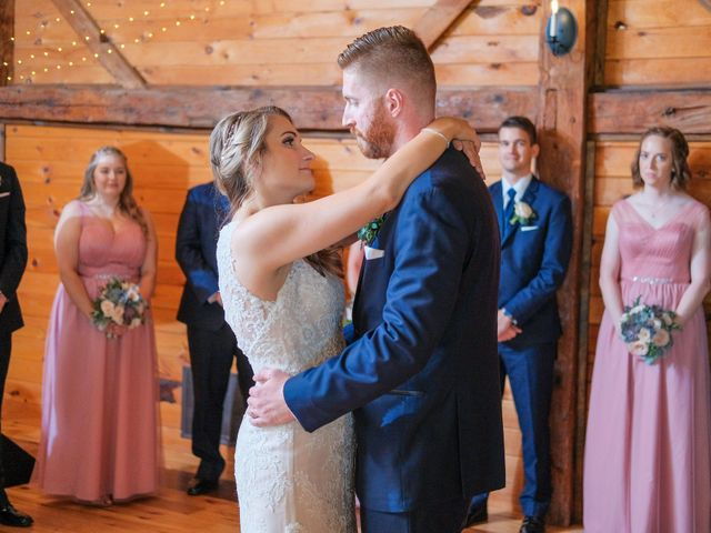 Kyle and Liz's Wedding in Chichester, New Hampshire 61