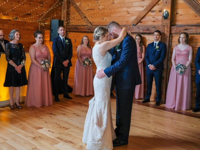 Kyle and Liz's Wedding in Chichester, New Hampshire 62