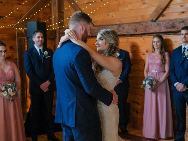 Kyle and Liz's Wedding in Chichester, New Hampshire 63