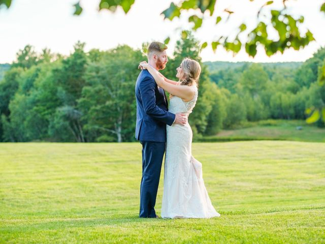 Kyle and Liz's Wedding in Chichester, New Hampshire 65