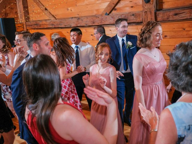 Kyle and Liz's Wedding in Chichester, New Hampshire 77