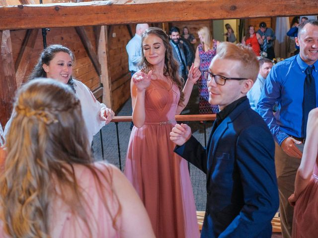 Kyle and Liz's Wedding in Chichester, New Hampshire 78