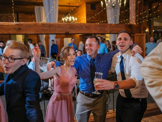 Kyle and Liz's Wedding in Chichester, New Hampshire 80