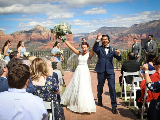 Jerome and Cassie's Wedding in Sedona, Arizona 3