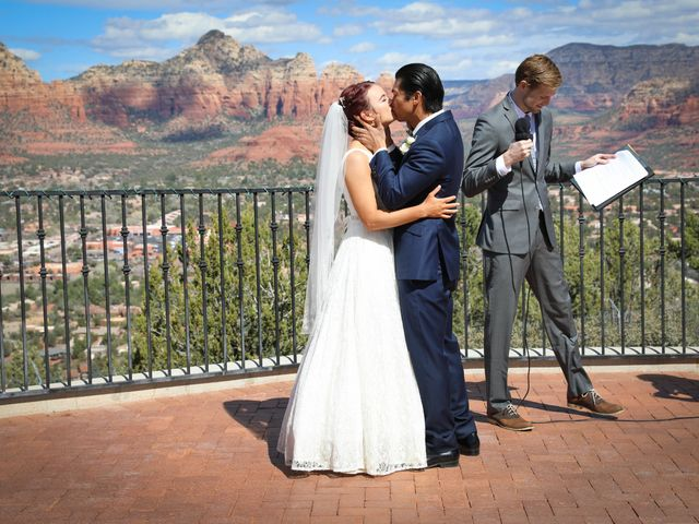 Jerome and Cassie's Wedding in Sedona, Arizona 4
