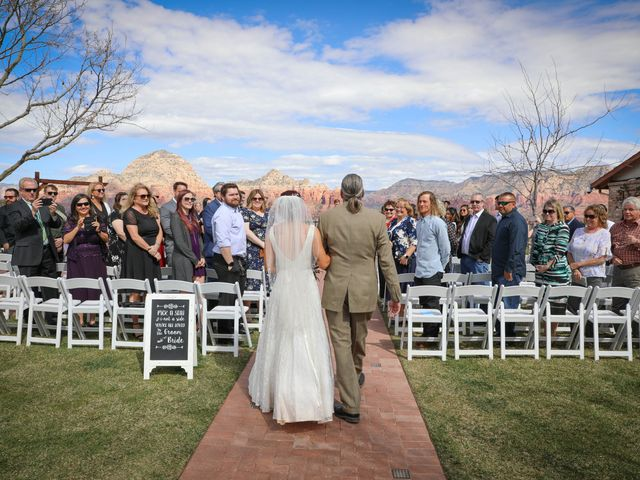 Jerome and Cassie's Wedding in Sedona, Arizona 6