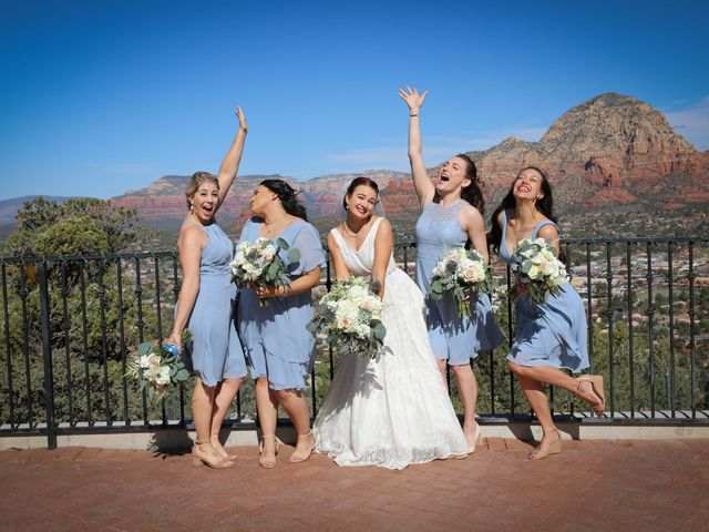 Jerome and Cassie's Wedding in Sedona, Arizona 8