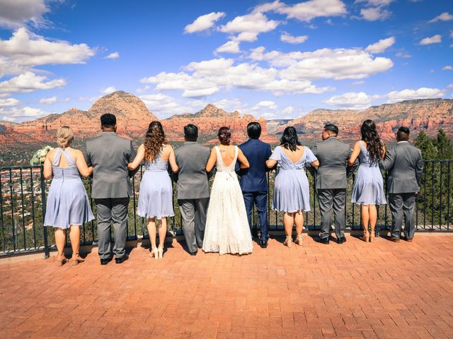 Jerome and Cassie's Wedding in Sedona, Arizona 10