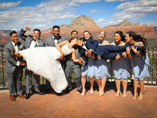 Jerome and Cassie's Wedding in Sedona, Arizona 12