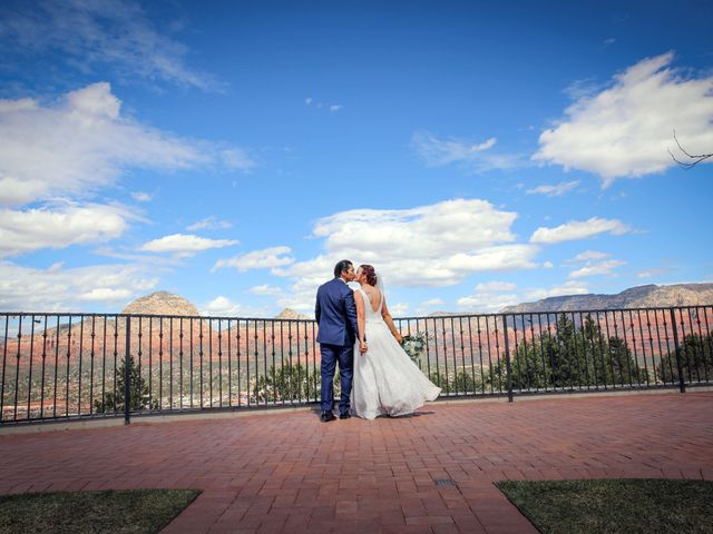 Jerome and Cassie's Wedding in Sedona, Arizona 2