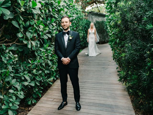 The wedding of Meredith and Jon