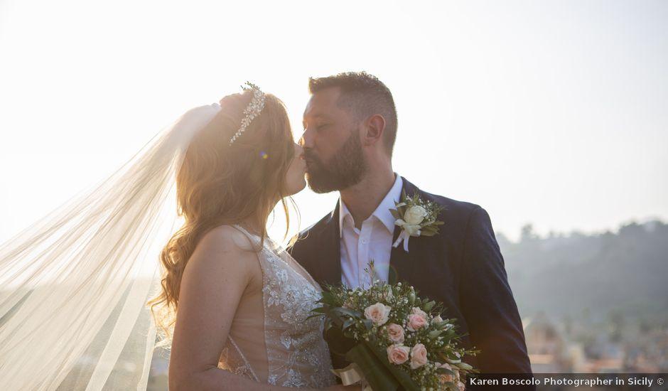 Angelo and Raechelle's Wedding in Catania, Italy