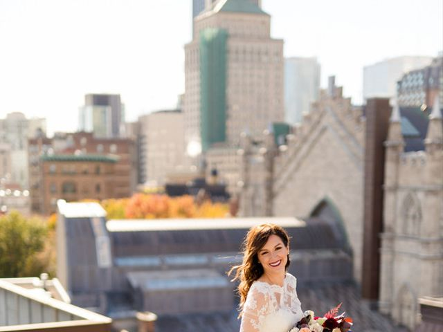 Karine and Pascal's Wedding in Montreal, Wisconsin 6