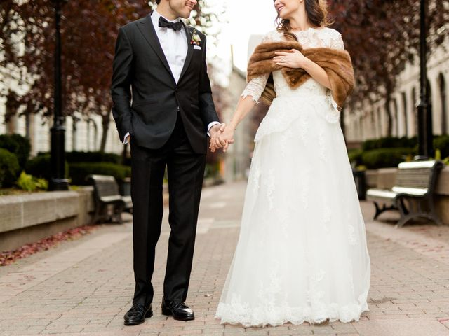Karine and Pascal's Wedding in Montreal, Wisconsin 13