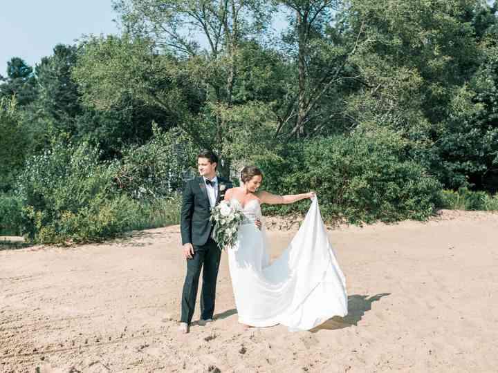 The wedding of Nicole and Alex