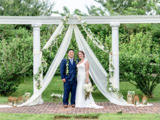 The wedding of Alyce and Rob