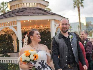 The wedding of Tosha and David