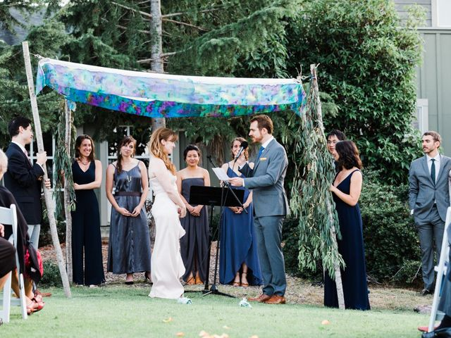 Drew and Sara's Wedding in Mill Valley, California 10