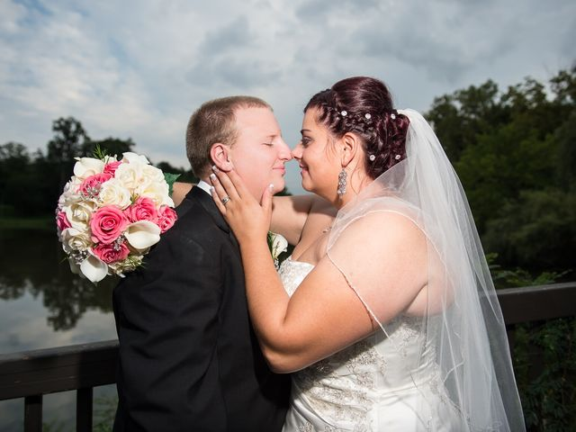 The wedding of Jordan and Russ